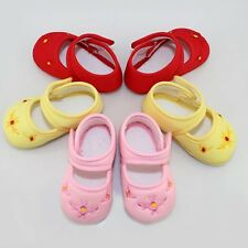 Newborn Baby Toddler Shoes Girl's Infant Cotton Floral Sneaker Crib Shoes 0-18M