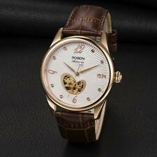 ROSDN Male Women Automatic Mechanical Skeleton Analog Dress Watch Sapphire X2W6