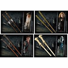 Harry Potter - Wand Pen And Bookmark Set New Official Warner Hermione Dumbledore