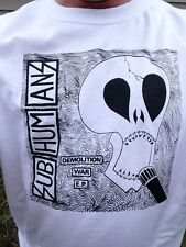 Subhumans Demolition War EP Crust Punks Shirt SIZES S - M - L - XL New