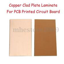 10PCS 100x160x0.6mm FR4 Copper Clad Plate Laminate PCB Printed Circuit Board New