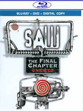 Saw: The Final Chapter (Blu-ray/DVD, 2011, 2-Disc Set, Includes Digital Copy)