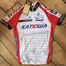 KATUSHA RUSSIAN PRO CYCLING TEAM SHORT SLEEVE JERSEY