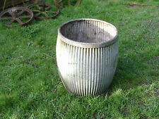 GENUINE VINTAGE GALVANISED DOLLY / PEGGY WASH  TUB 'VOLOLO PATENT'