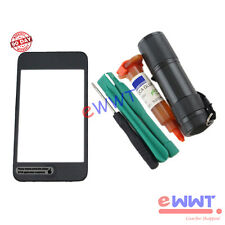 Front Screen LCD * Digitizer with Frame+UV Glue for iPod Touch 2nd Gen 2 SJLT191