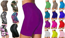 New Ladies Cycling Dance Everyday Sports Active Casual Plus Size Sshorts UK 8-22