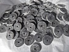 NEW Black Rubber Washers Lot of 25 1/4 Thick 1/4 Hole (1.5) 1 1/2 Inches Long