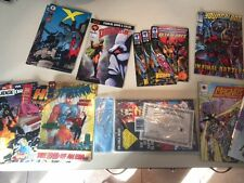 Large Lot of 1993 Comics Wild Cats, Superman, Batman, Spiderman, Etc