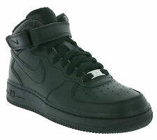 NEW NIKE Air Force 1 MID GS Shoes Trainers Black 314195 004 Sale