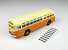 Classic Metal Works 32308 HO Mini Metals GMC TD 3610 Transit Bus - Orange with C