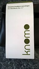 Knomo Leather Envelope for MacBook Air 11 RRP £74.95