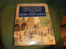 1974 Readers Digest Great People Of The Bible And How They Lived-HC DJ