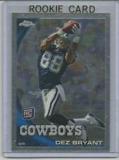 DEZ BRYANT 2010 TOPPS CHROME MINT RC ROOKIE CARD DALLAS COWBOYS