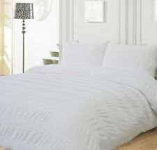 Merryfeel yarn dyed Duvet Cover Pillowcase Set 100% cotton soft Twin Queen King