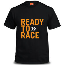 Genuine Official KTM Racing Motorcycle Extreme Motocross Black Mens Tee T-Shirt