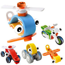 Motorcycle Helicopter Aircraft Car IDY Handcrafted Educational Toys Kid Children