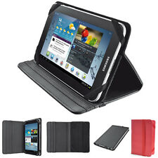 """Folio Leather Case Cover Stand For All 7"""" to 7.9""""  Inches Android Tablet PC iPad"""