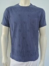 J.Crew Men's Blue Bandana Print Graphic Pocket Tee Shirt NwT S M L XL
