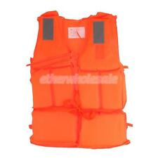 Kids Adult Kayaking Rafting Buoyancy Life Jacket Vest PFD with Whistle S/M/L/XL