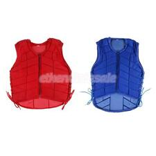 EVA Padded Waistcoat Equestrian Safety Horse Riding Vest Body Protector Equip