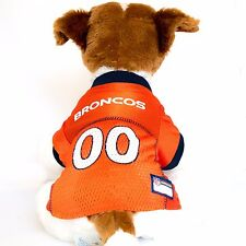 Denver Broncos Dog Jersey NFL Football Officially Licensed Pet Product