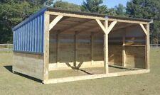 Heavy Duty Portable Horse Barn-Livestock Shelter-Goat Shed-Sheep Shed-Wood Shed