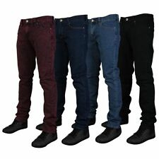Mens Skinny Fit Stretch Denim Branded Designer Slim Fit Jeans All waist sizes