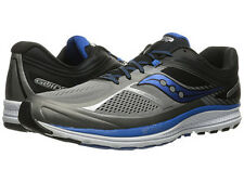 Saucony GUIDE 10 Mens Running Shoes Gray Black Blue