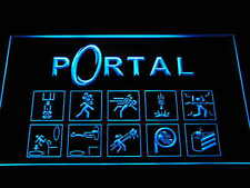 e068 Portal Game Logo LED Neon Sign