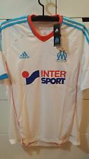 Olympique Marseille 2012-13 Home Football Soccer Jersey Shirt OM X21902 White