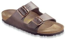 Birkenstock Women's Arizona Classic BirkoFlor Sandals Dark Brown 5170