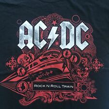 AC/DC - ROCK N ROLL TRAIN AUSTRALIAN  2010 Tour Shirt( Official Merch) L