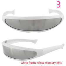 Futuristic X-men Outdoor Sports Cycling Bicycle Eyewear Glasses Mirrored