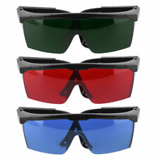 Protection Goggles Safety Glasses Green Blue Red Eye Spectacles Protective GF