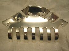 """STERLING SILVER 1.75"""" HAIR CLAW CLIP TAXCO MEXICO NEW BARRETTE 9 styles NEW"""
