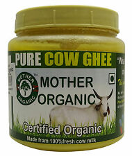 Mother Organic Clarified Butter / Cow Ghee Chemical Free - USDA Certified