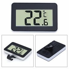 Magnet Digital LCD Thermometer Hygrometer Temperature Humidity Meter Gauge OI