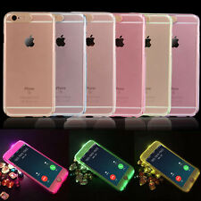 Flash Light Case 360 Full Body Protective Hard PC Clear Front Back iPhone Cover