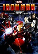 Iron Man: Rise of Technovore (DVD, 2013, Includes Digital Copy; UltraViolet) NEW
