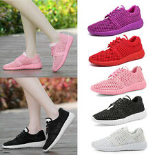 Women Breathable Mesh Casual Sport Shoes Sneakers Running Fitness Trainers Shoes