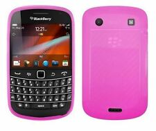 NEW TPU Soft Rubber Gel Case Cover for Blackberry Bold Touch 9930 / 9900 - Pink