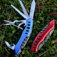 Swiss Army Pocket Knife Folding Multi-Use Camping Survival Tools - 3 colors