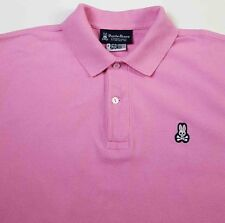 Psycho Bunny Sz 4 / Small Pink Polo Shirt Logo by Robert Godley