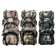 90L Large Hiking Mountaineering Camping Traveling Backpack Rucksack Outdoor Bag