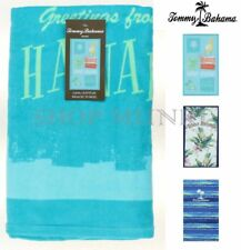 Tommy Bahama Oversized Luxurious 100% Cotton Summer Beach Towel- 40in X 70in