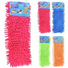 Extendable Microfibre Noodle Mop Super Dust Tile Cleaner Floor Sweeper Washable