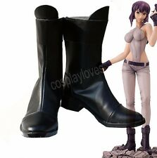 Ghost in the Shell kusanagi motoko Cosplay Boots Shoes Anime