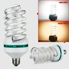 E27 Spiral Shape 5-16W 2835 SMD LED Energy Saving Lamp Bulb Cool White AC85-265