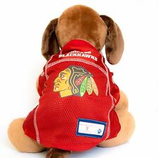 Chicago Blackhawks Dog Jersey NHL Hockey Officially Licensed Pet Product