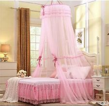 Princess Lace Mosquito Net Canopy For Twin Full Queen King Bed Size
